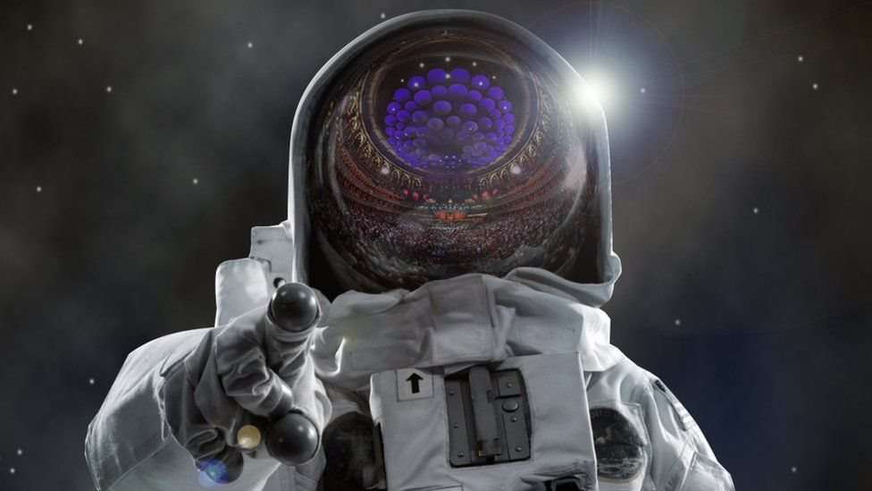 The first weekend of the Proms coincides with the 50th anniversary of Neil Armstrong and Buzz Aldrin's moon walk