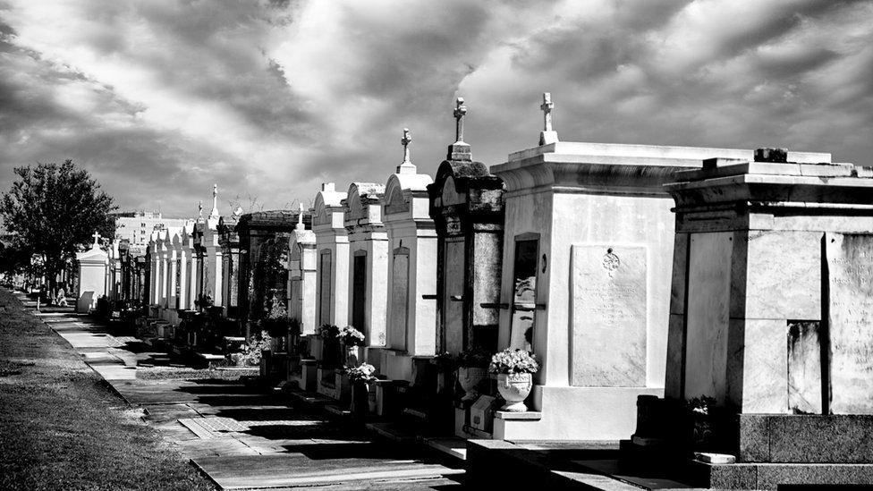 Кладбища Нового Орлеана - это целые города