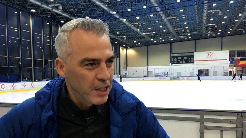 Figure skating coach Bruno Marcotte