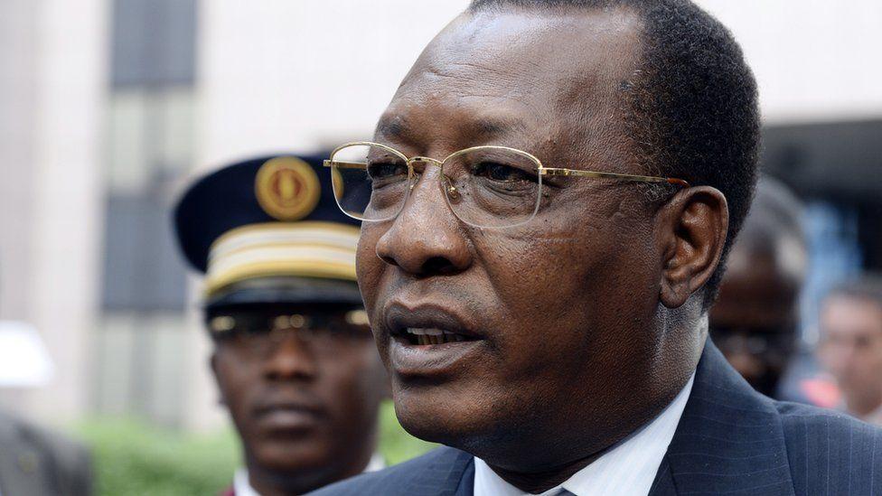 Chadian President Idriss Deby