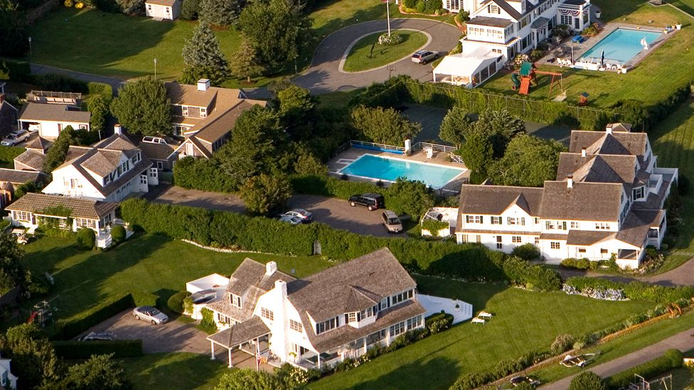 The Kennedy compound