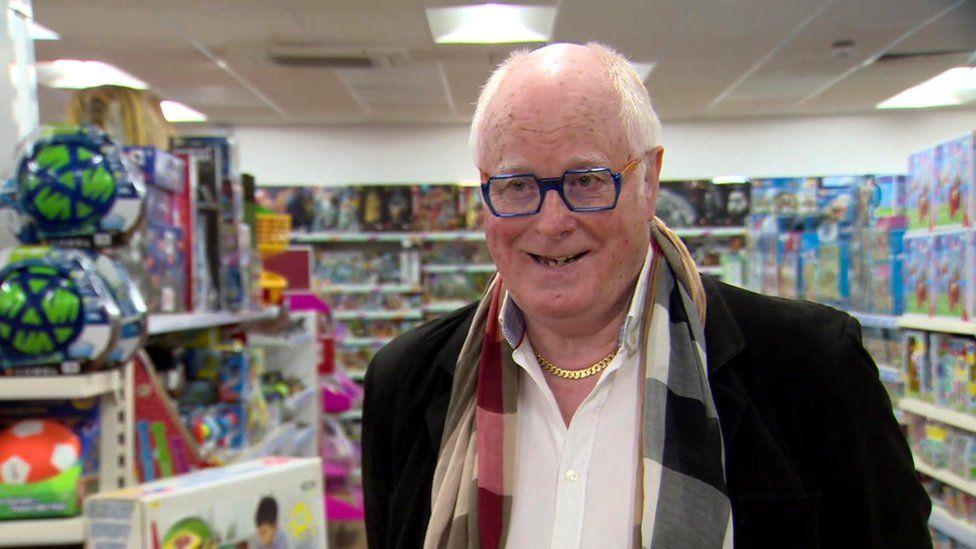 Toytown managing director Alan Simpson