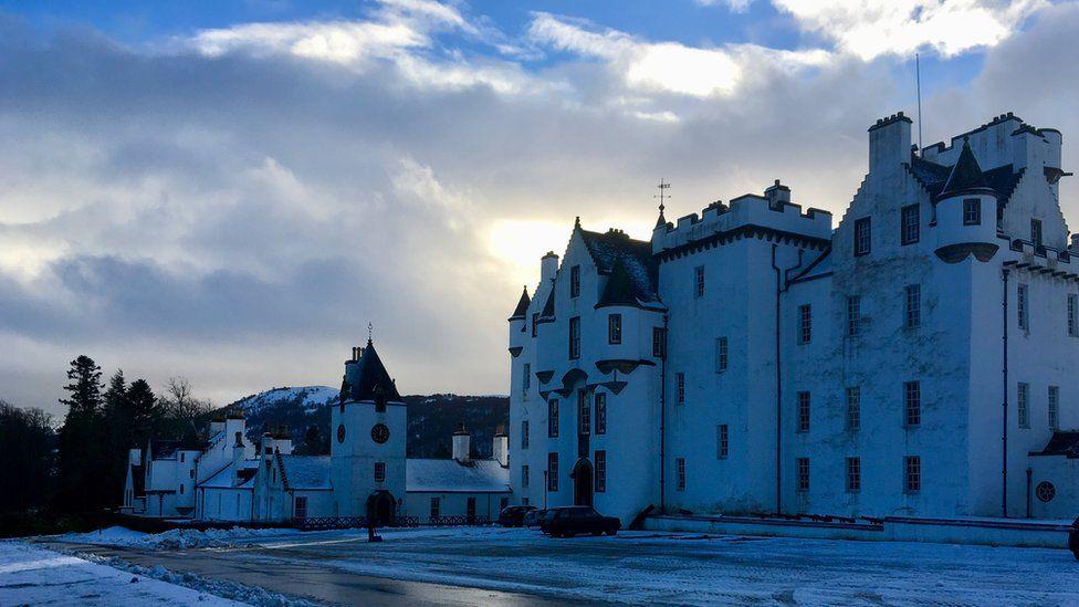 Snowy Blair Castle