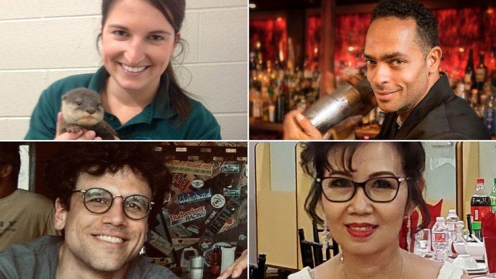 Keriann Ballanco, Daniel Victory, Tony Manno and Diana Chen