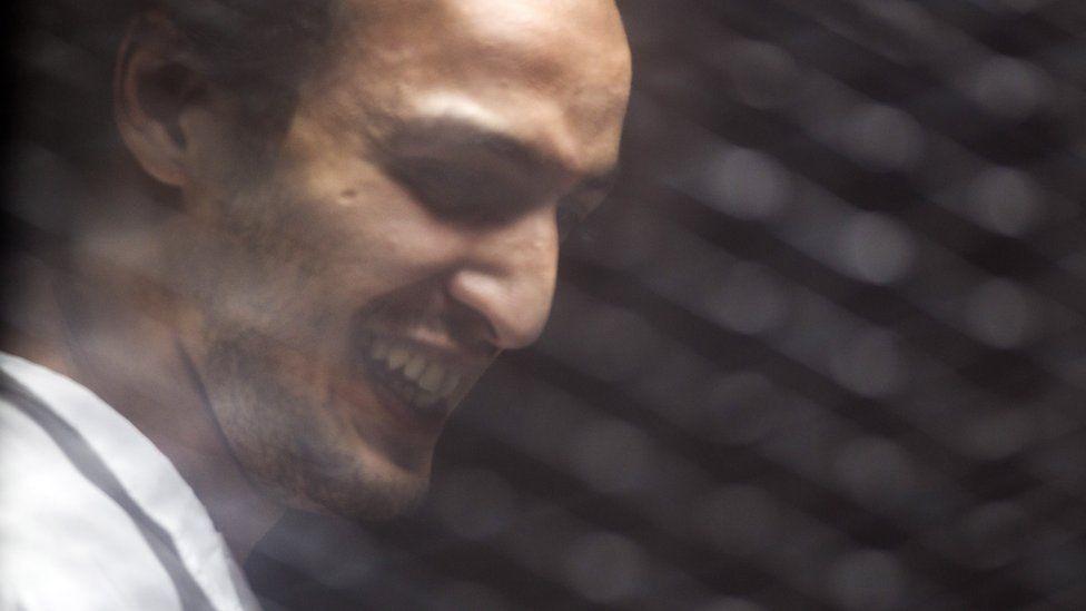 Egyptian photojournalist Mahmoud Abu Zeid, better known as Shawkan