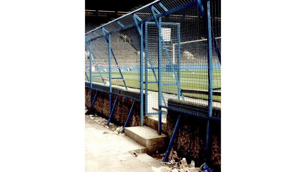 High perimeter fences at Hillsborough