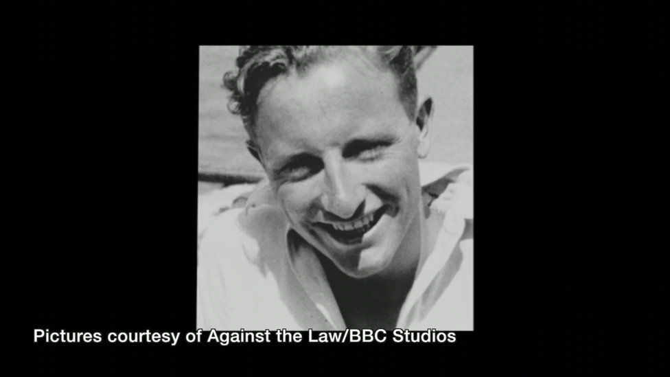 Roger Lockyer as a younger man