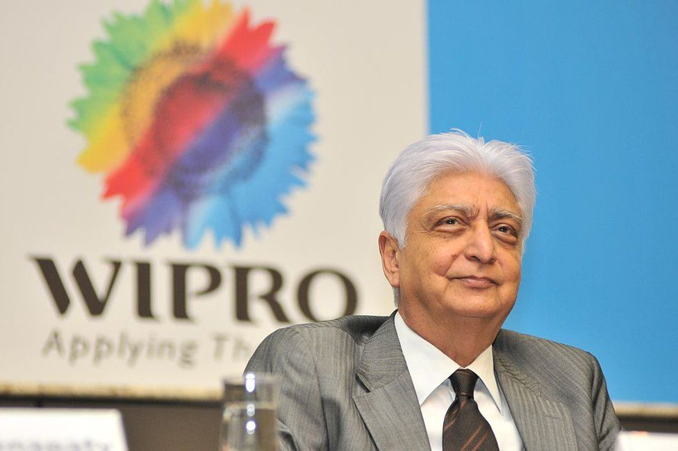 Wipro Chairman Azim Premji during the announcement of Quarter 1 Results at Wipro Headquarters Sarjapur Road on July 20, 2011 in Bangalore, India.