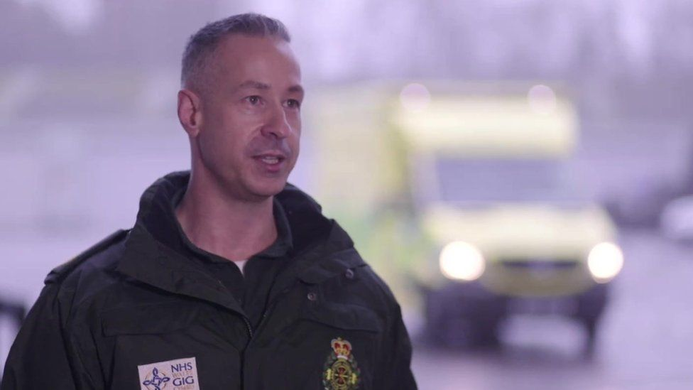 Lee Brooks, director of operations at the Welsh Ambulance Service