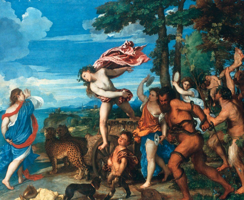 Titian's Bacchus and Ariadne