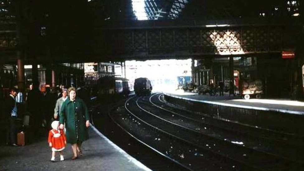 The station in 1964