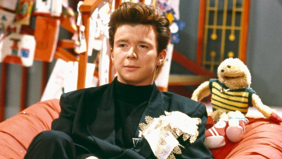 Rick Astley and Gordon The Gopher on Going Live!