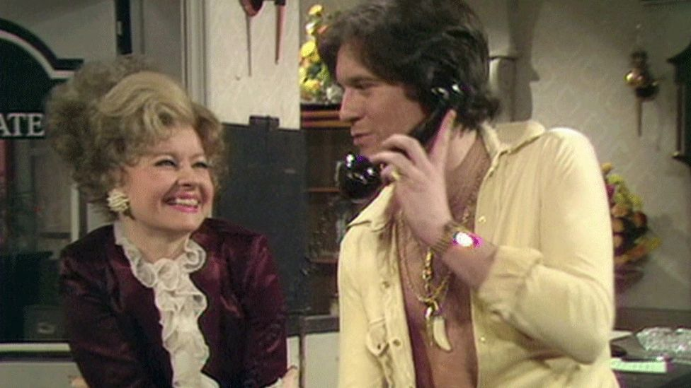 Prunella Scales and Nicky Henson