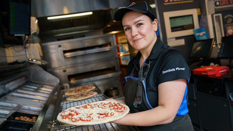 Domino's Pizza employee