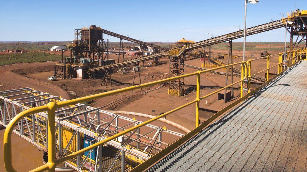 Ore processing facility, Iron Bridge