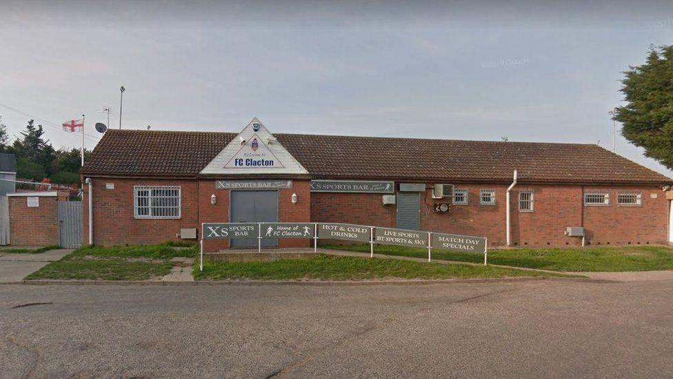 FC Clacton has defibrillator stolen from ground