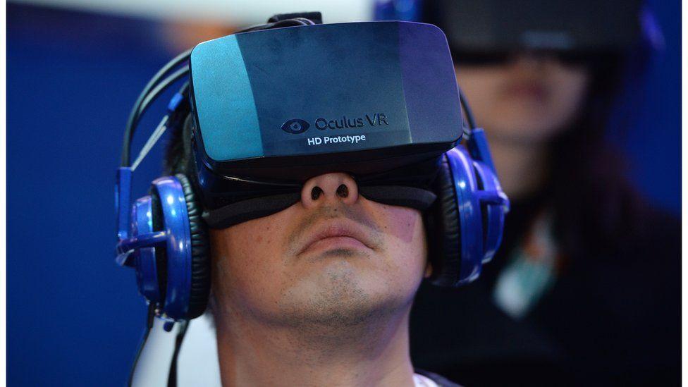Oculus headset