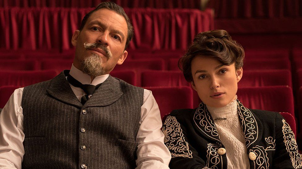 Keira Knightley with Dominic West in Colette