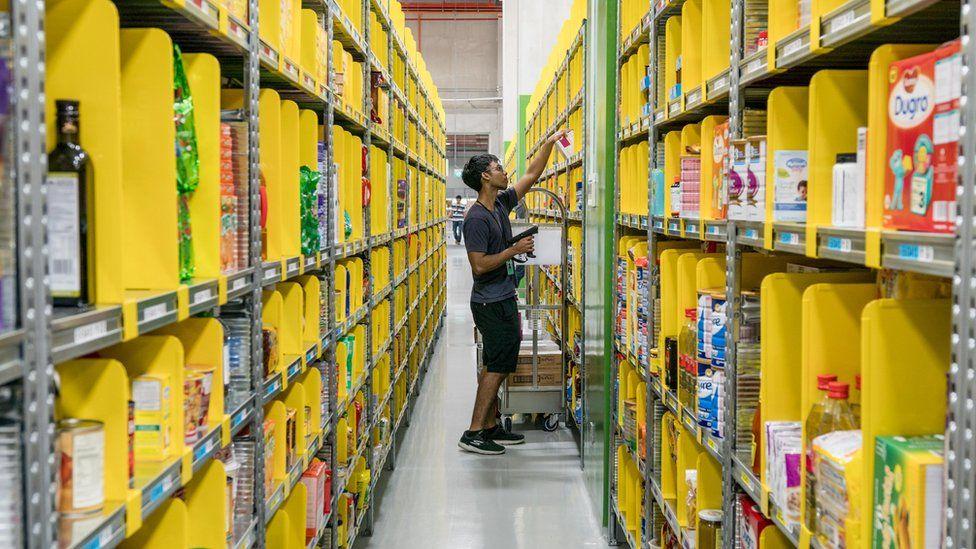 Amazon fulfillment centre in Singapore
