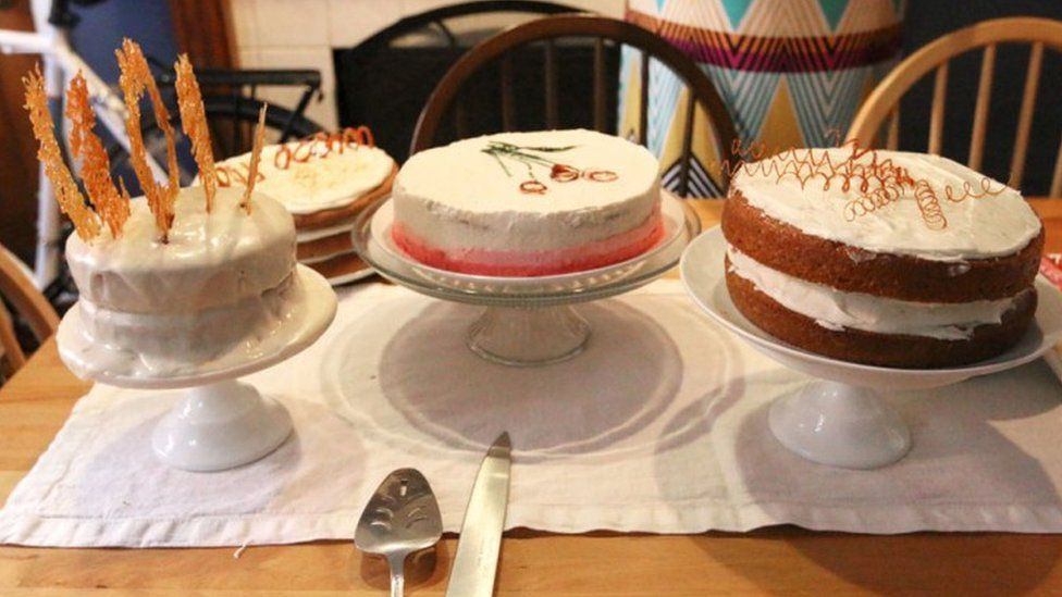 Chrystina Cappello's cake week party