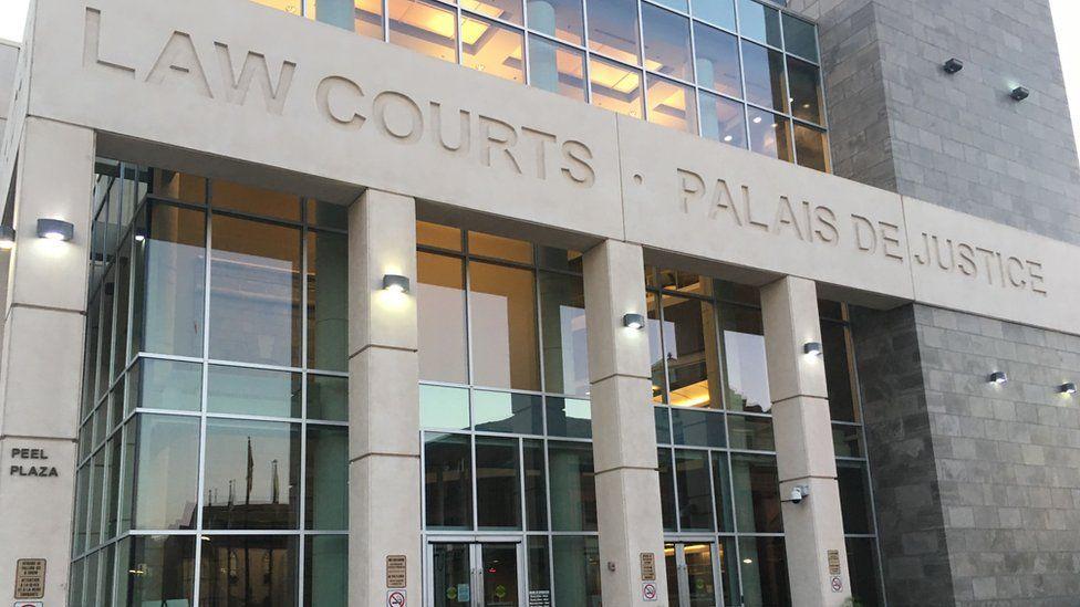 Courthouse in Saint John, New Brunswick