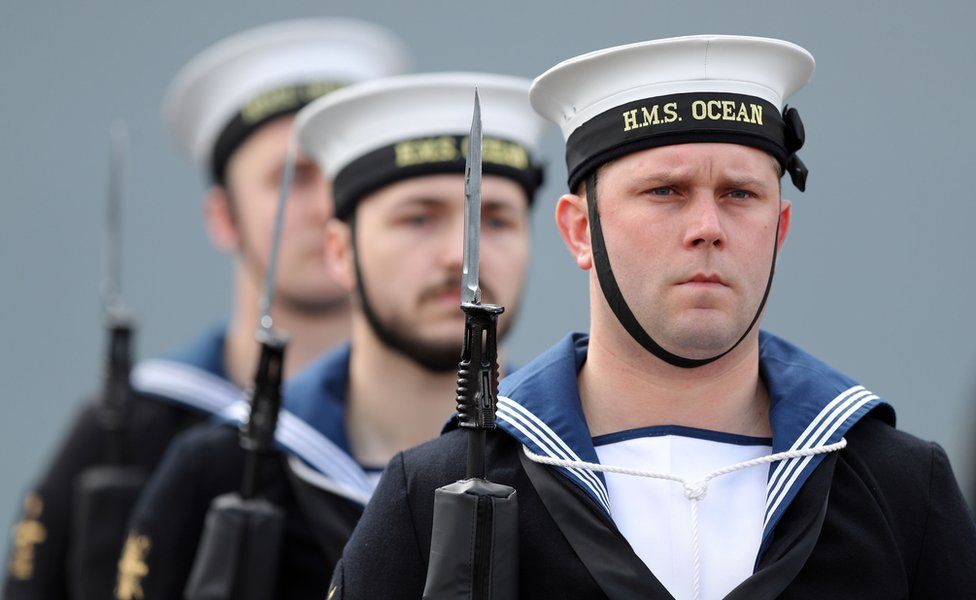 HMS Ocean sailors
