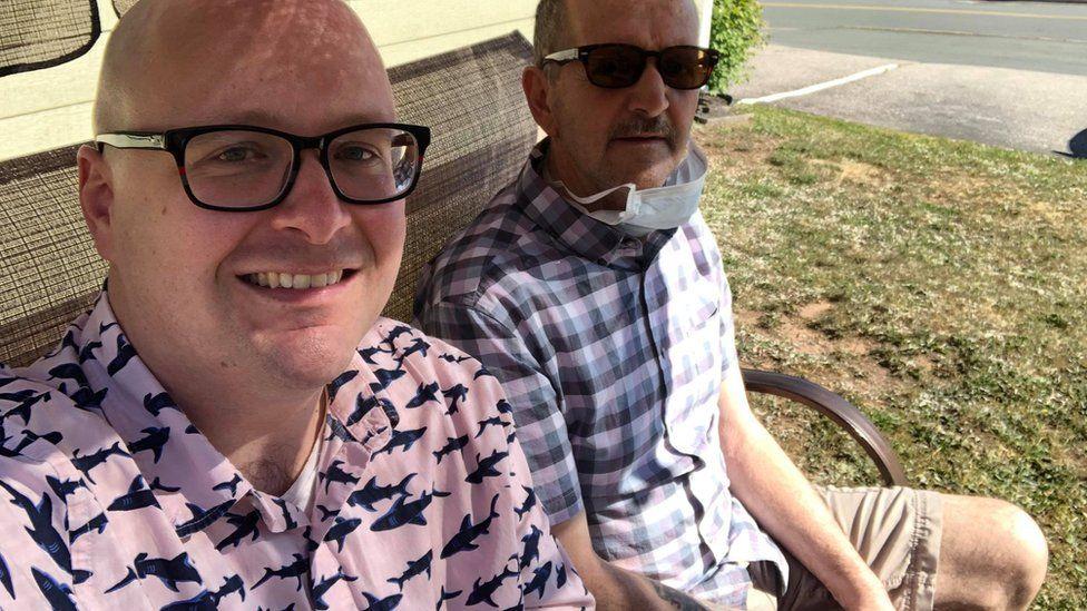 Steve and Roger Ellis