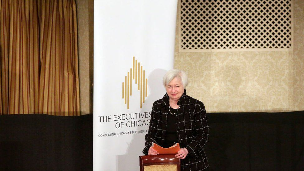 Janet Yellen at The Executives' Club of Chicago