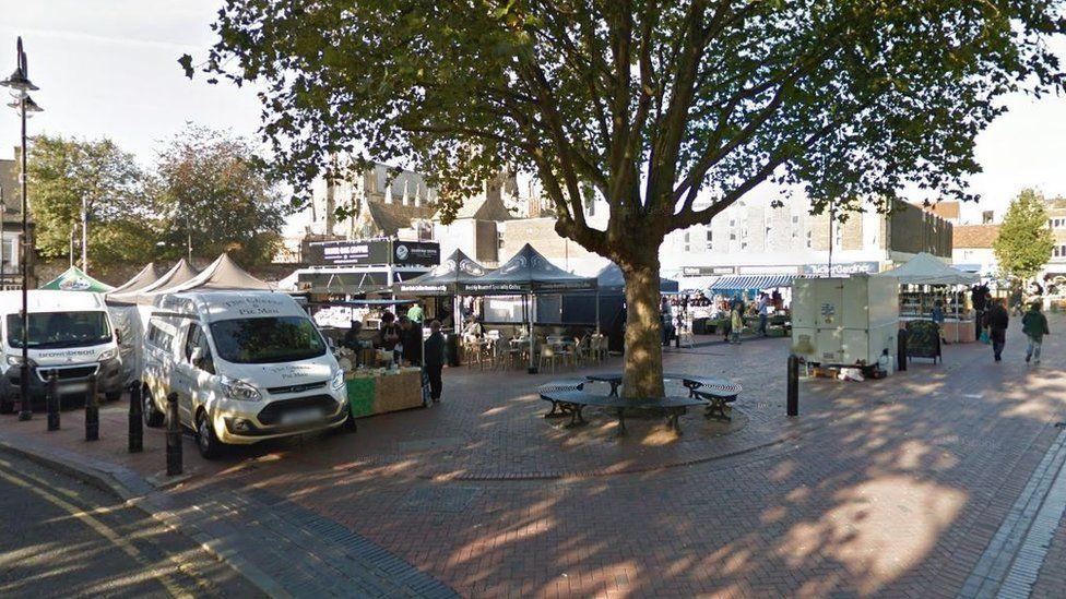 market square, Ely