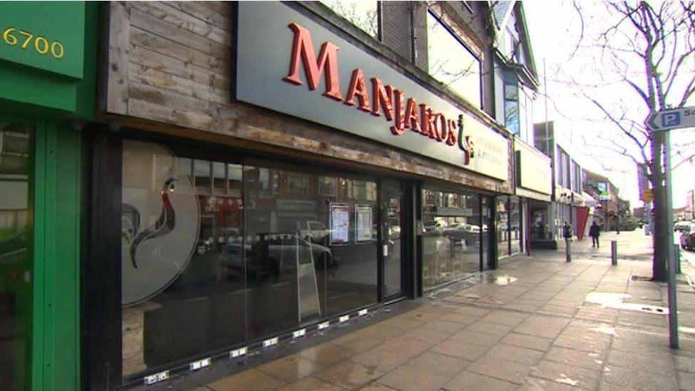 Manjaros restaurant, Middlesbrough