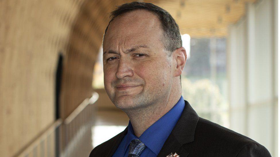 Tristan Carson, a veteran of the US Marine Corps