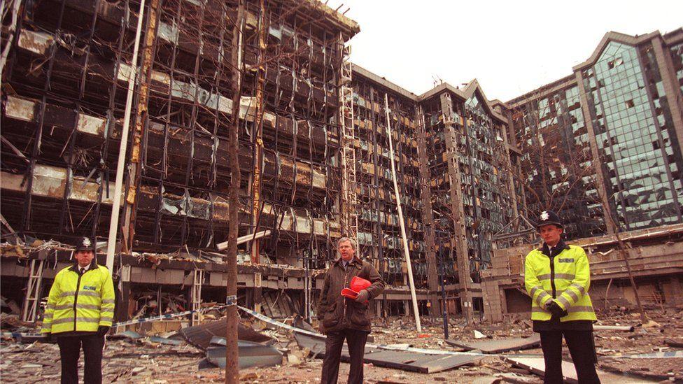 Docklands bomb