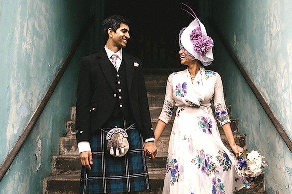 Sandeep and Piriyah Krishnan