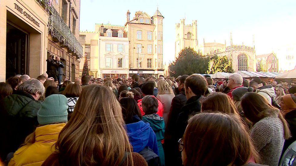 Cambridge vigil