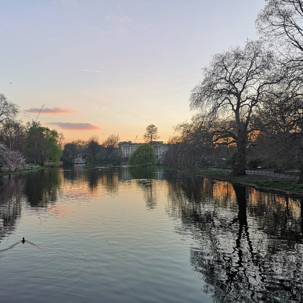 St James's Park in London