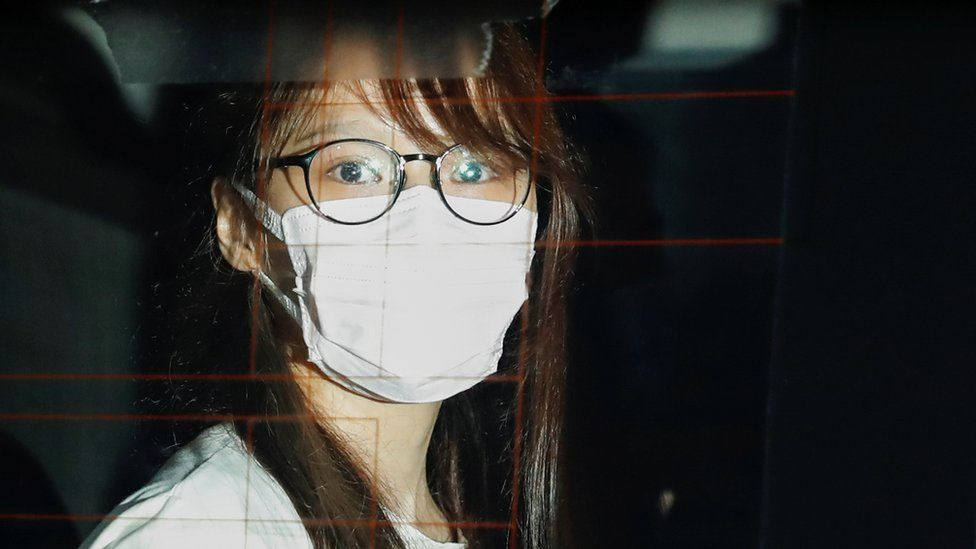 Ms Chow was arrested from her home on the night of August 10,