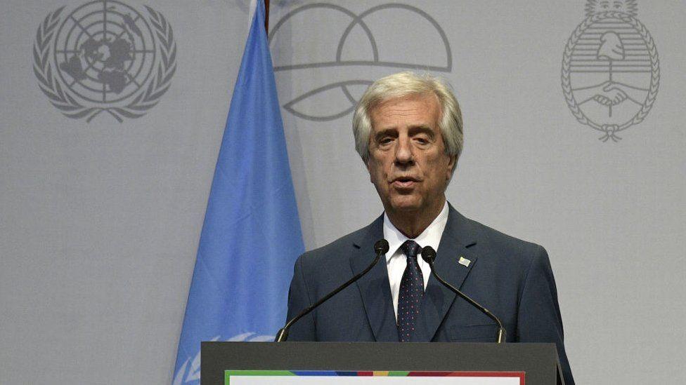 """El presidente de Uruguay, Tabaré Vázquez, anuncia que tiene un nódulo en un pulmón con """"características muy firmes"""" de ser un cáncer"""