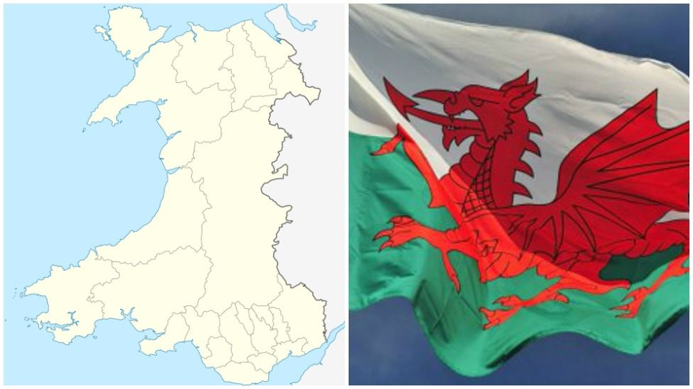 area of wales