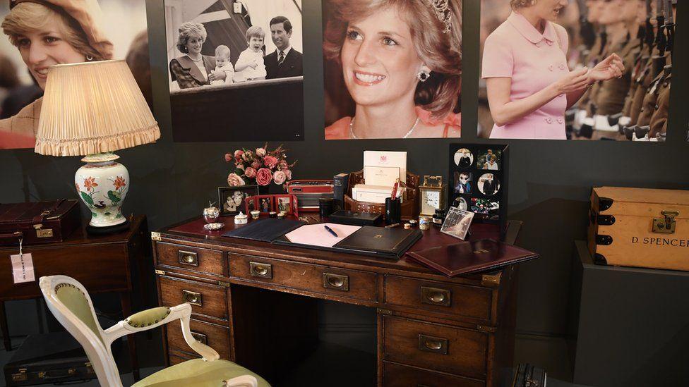 Princess Diana's desk