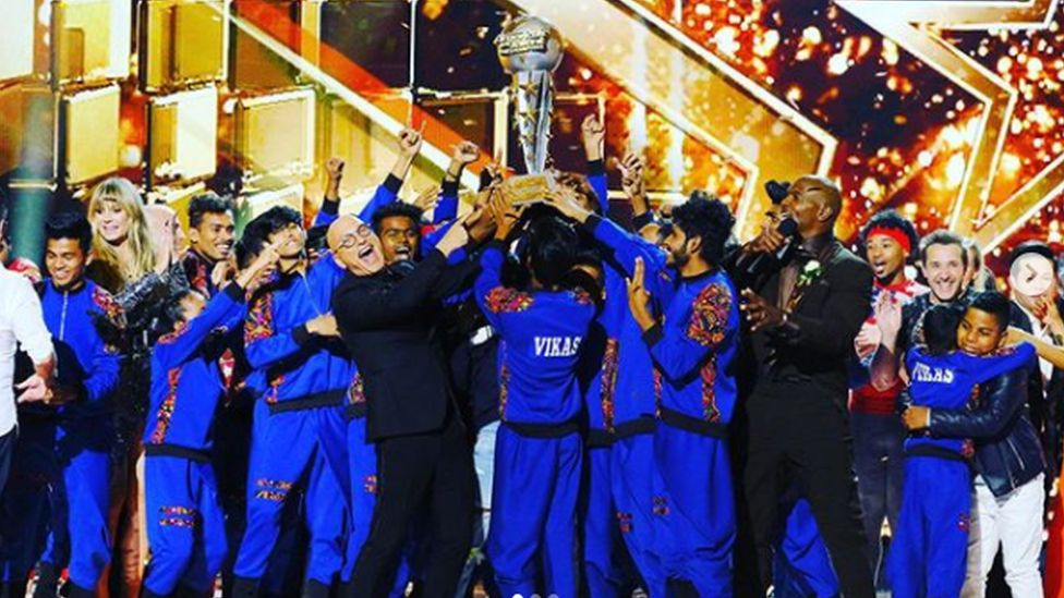 V Unbeatable after their win in America's Got Talent