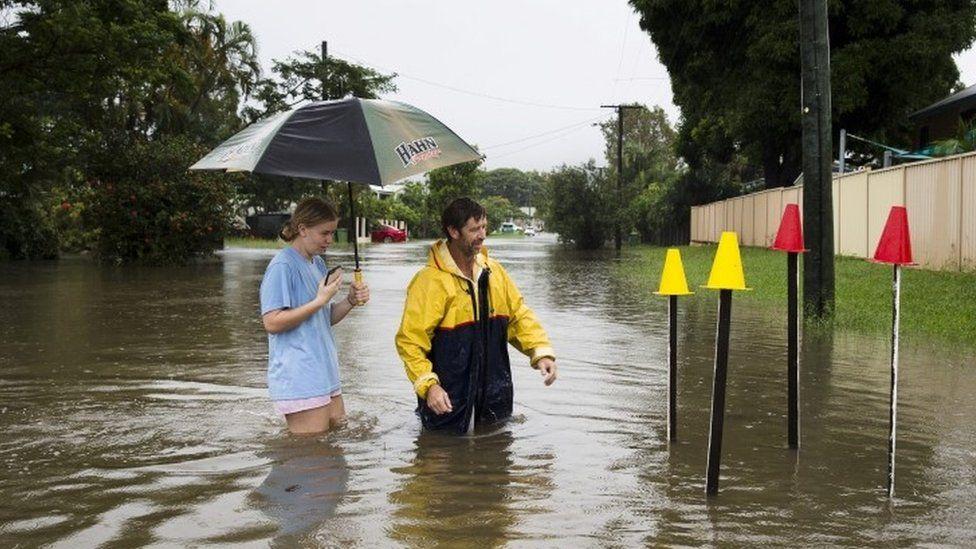 Flooding in Townsville, Queensland