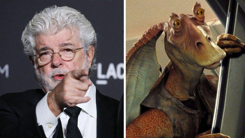 Star Wars: George Lucas names Jar Jar Binks as his favourite character