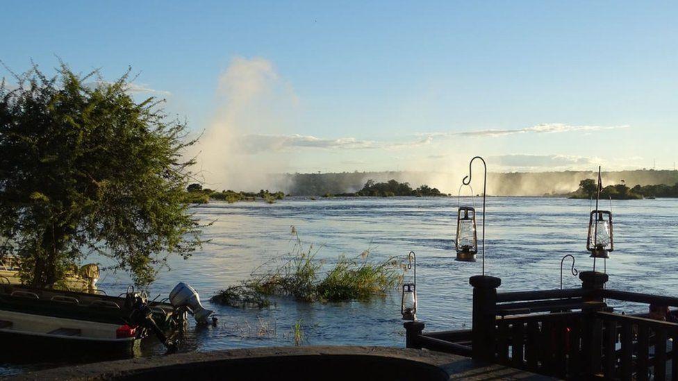 Водоспад Вікторія, Замбія