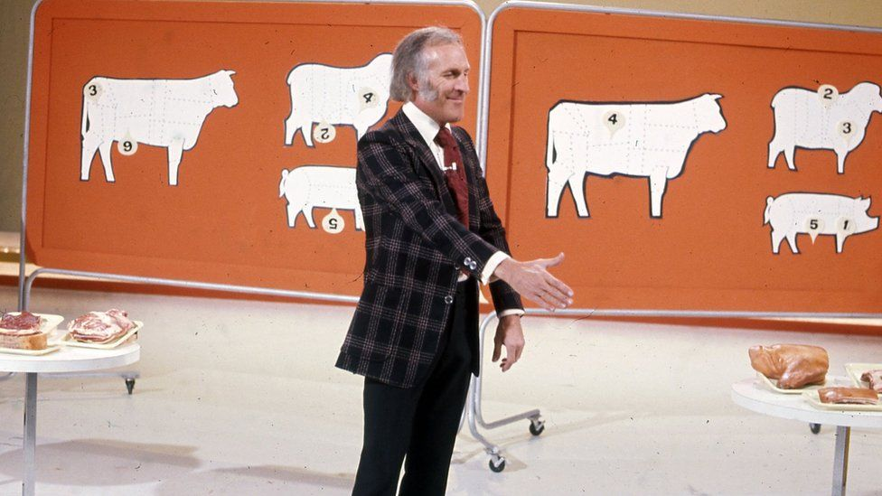 Bruce Forsyth on the Generation Game