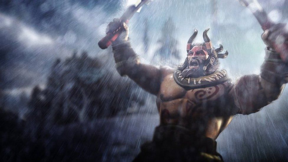 Artwork of one of the characters form DOTA 2