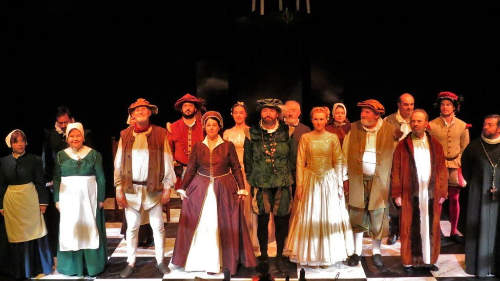 The cast of Shakeshafte