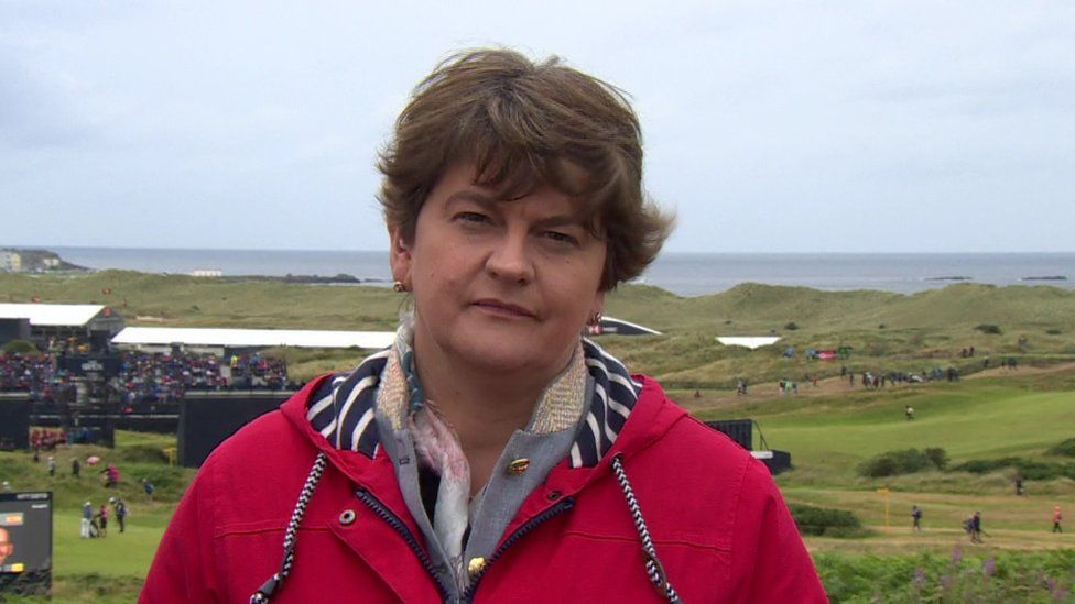 Arlene Foster: 'Serious negotiations' to restore NI devolution