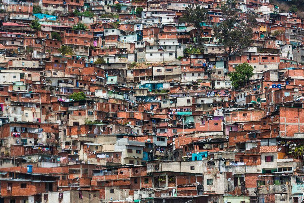 A barrio in Caracas