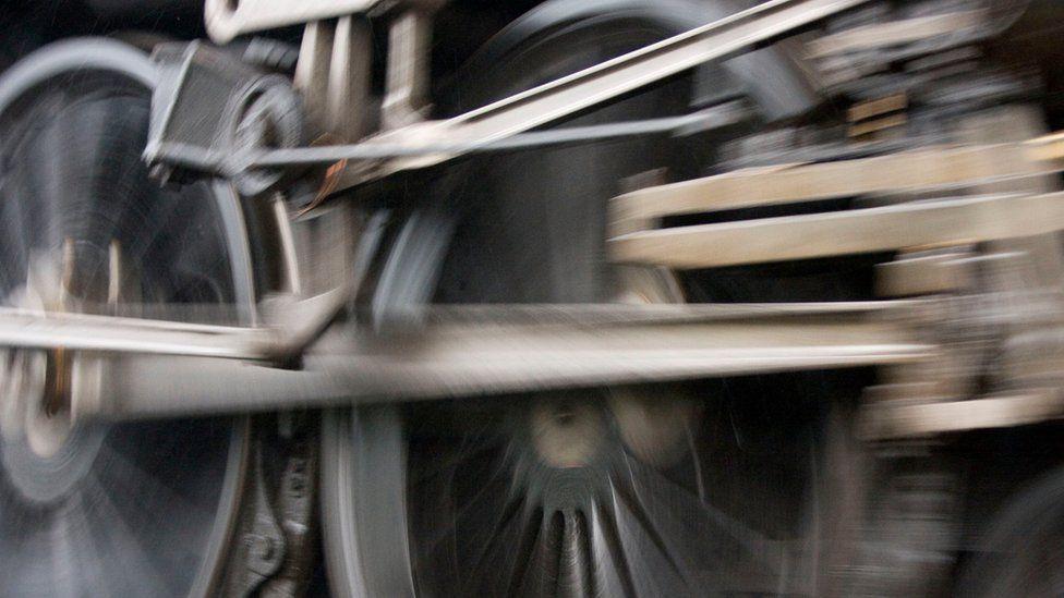 Train's wheels