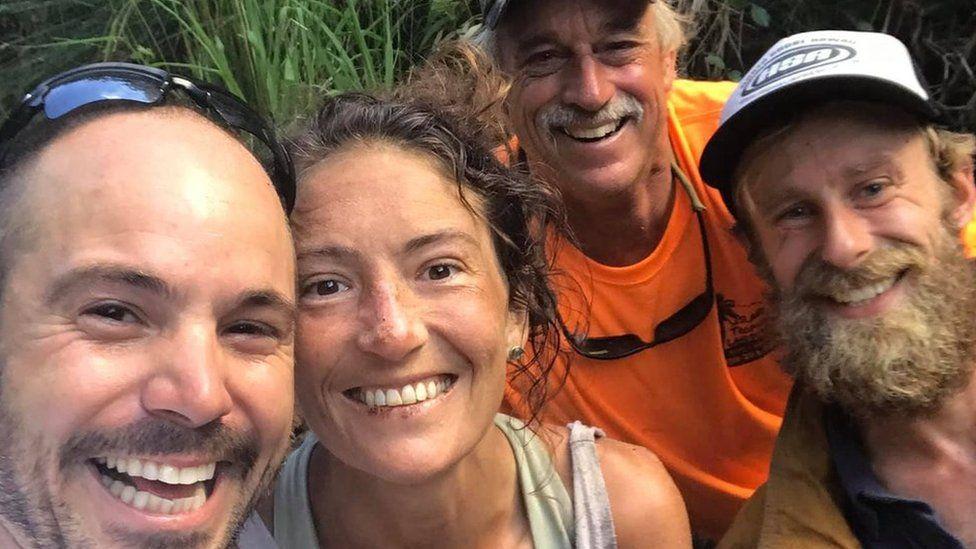 El rescate de una excursionista en Hawái luego de dos semanas desaparecida